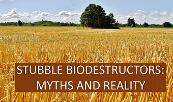 Feasibility of stubble biodecomposer application