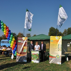 German Agrarian Center Field Day, September 20 2012, Cherkasy region, Ukraine